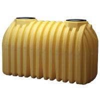1000 gallon 2 compartment plastic septic tank